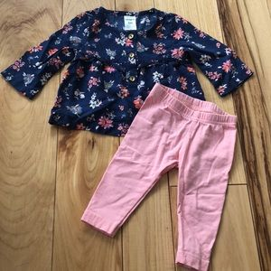 Matching Floral Outfit